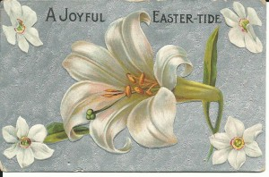 A 1905 Easter card