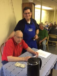 Church Supper - Bob and Larry